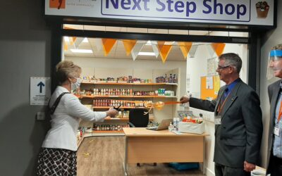 New Next Step Shop opens in Grangetown Community Hub